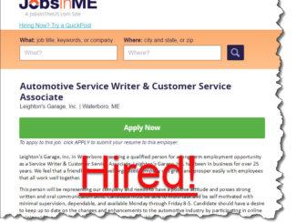 successful hiring story