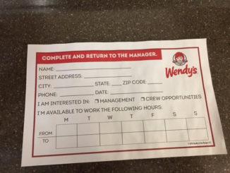 wendy's job app