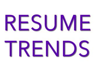 2017 resume trends