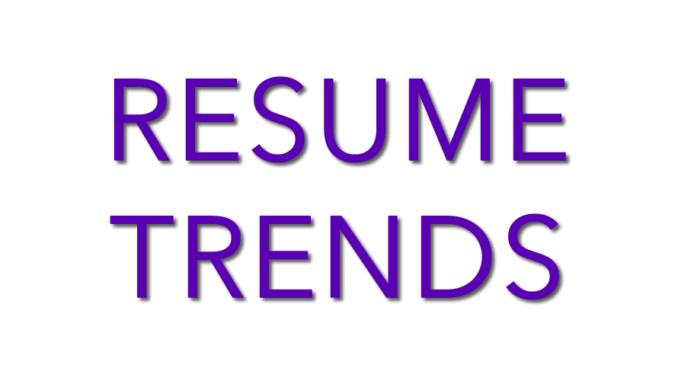 2017 resume trends - Resume Trends 2017